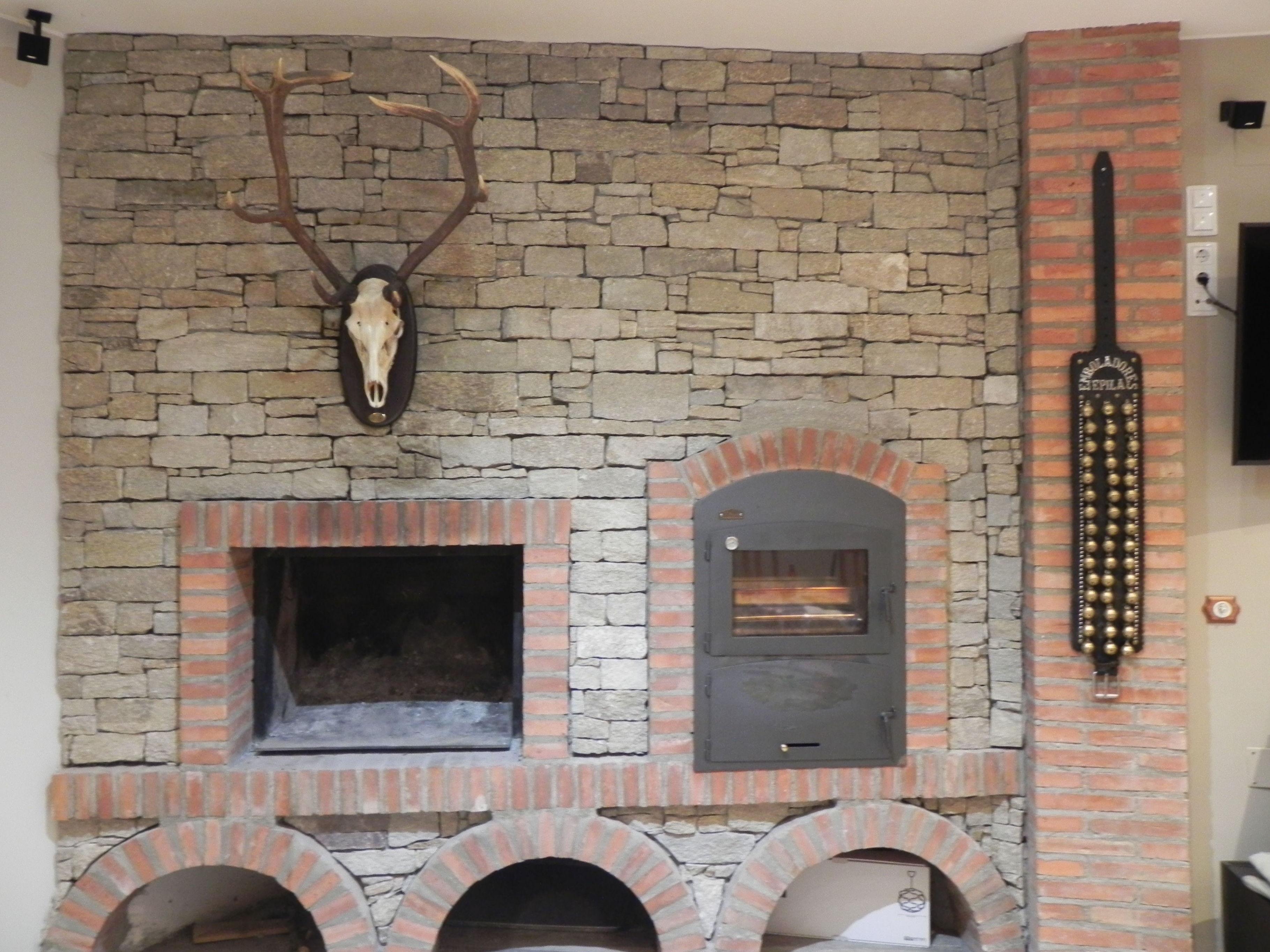 Instalación de horno de leña