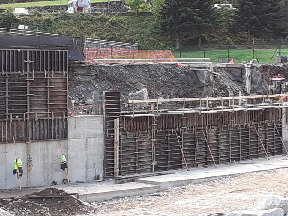 Encofrados: Servicios de Construcciones LRG