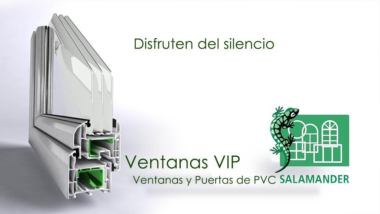 Ventanas y puertas de PVC Salmander