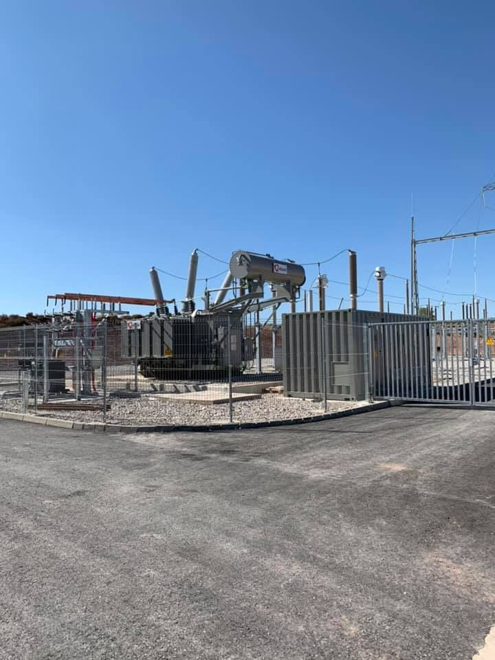 Obra Civil. Construcción de subestaciones eólicas: Servicios de Construcciones LRG