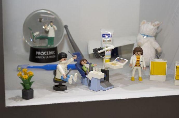 Detalle de la decoración de nuestra clínica dental