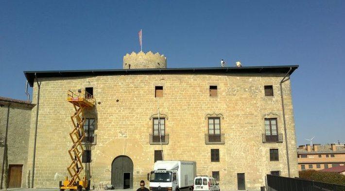Trabajos de impermeabilización de castillo en Valencia