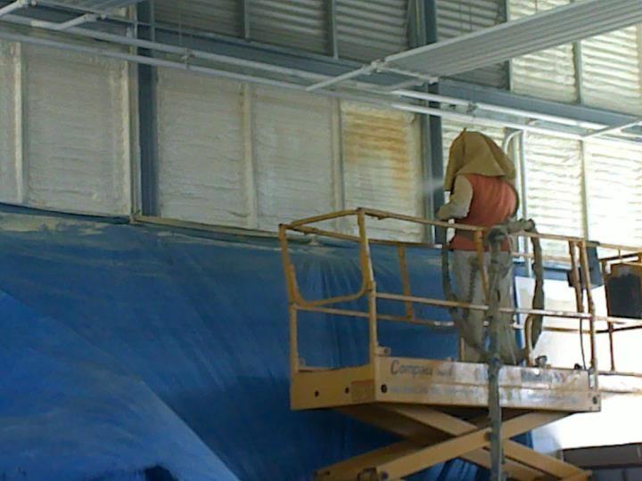 Proyección de morteros y aplicación de pinturas ignífuga: Servicios de Grup Soltecons SL