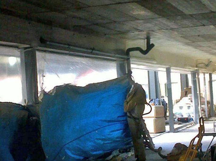 Impermeabilización y protección de interior de edificio