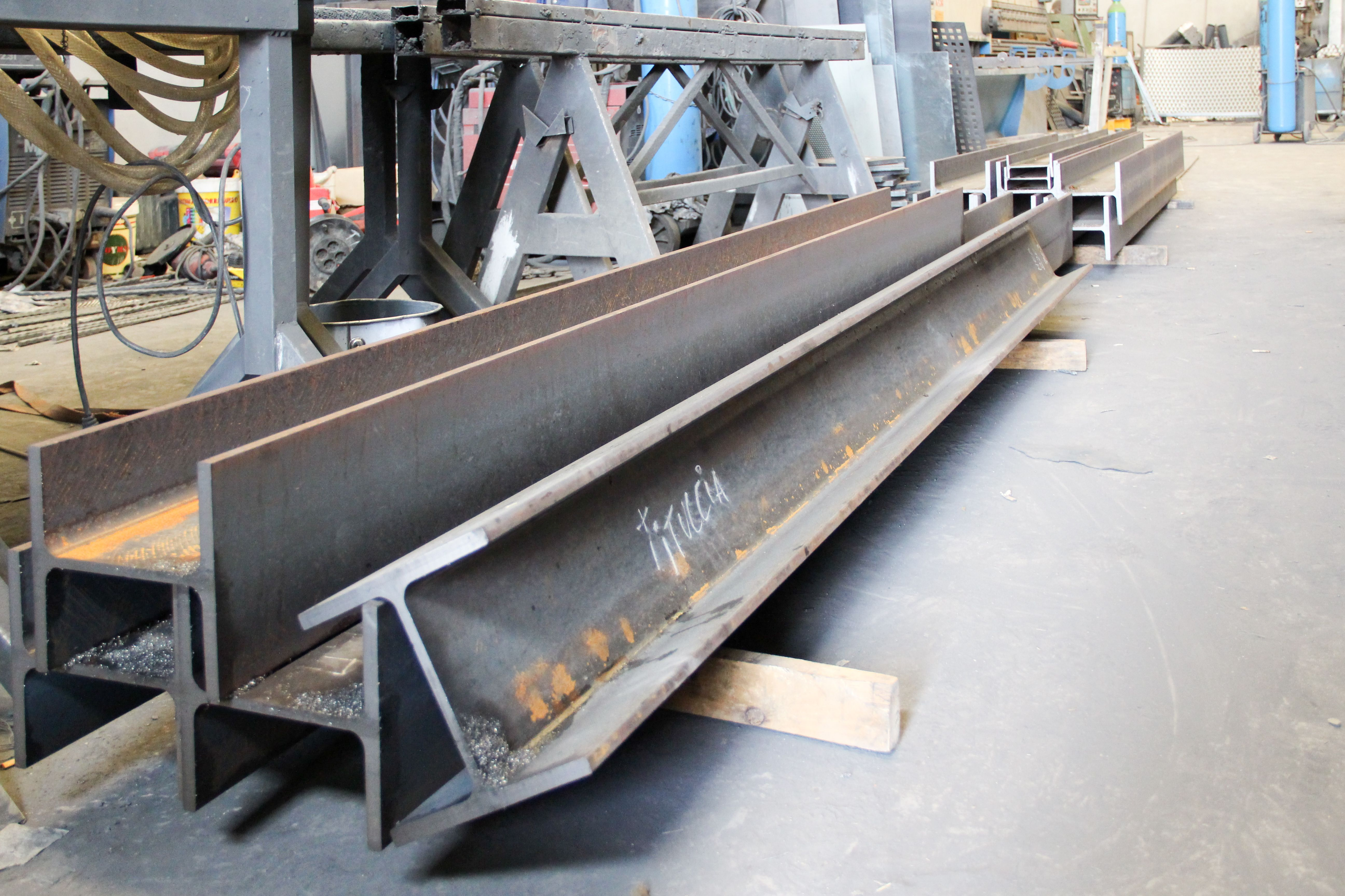 Estructura de hierro