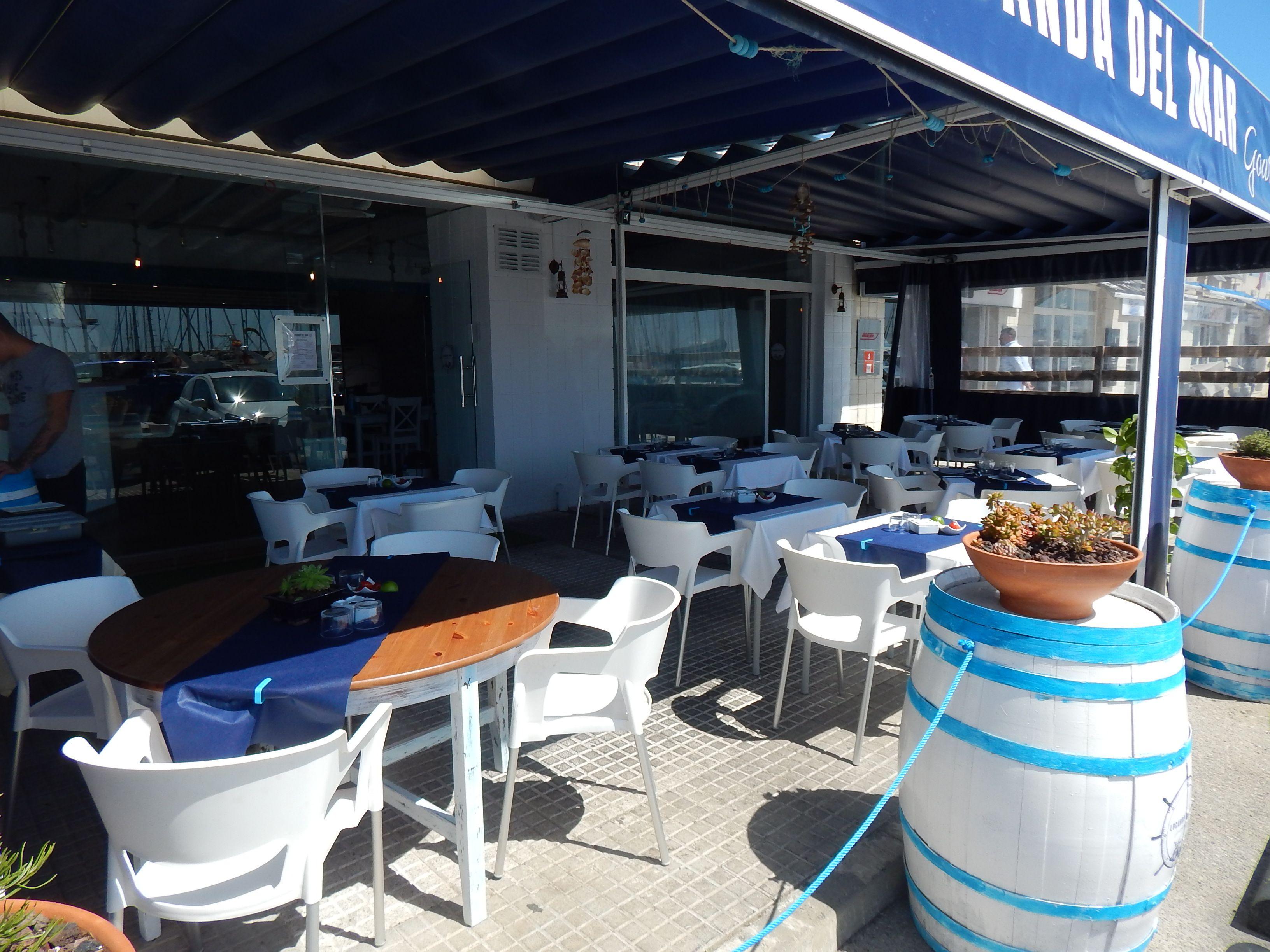 Restaurant with terrace in Sant Andreu de Llavaneres