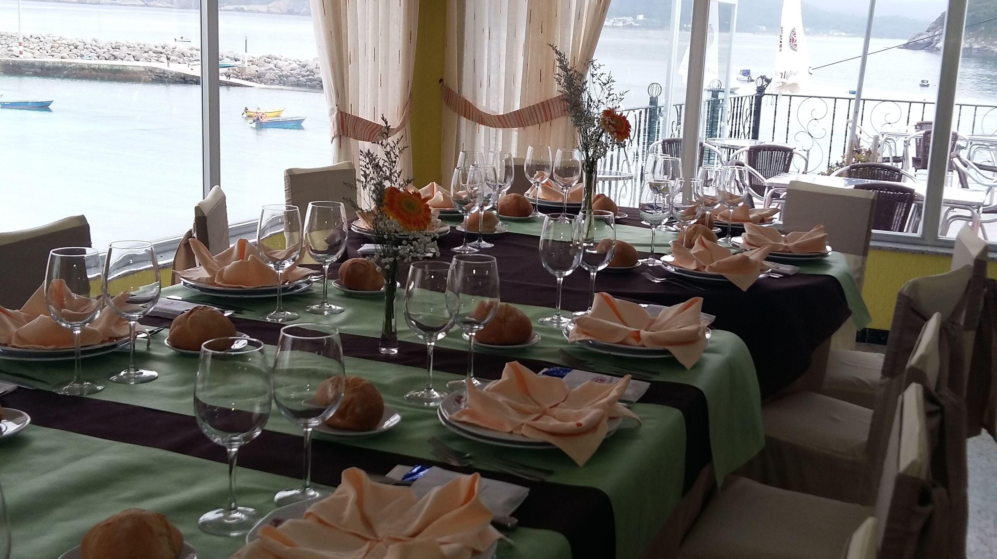 Salones del Restaurante La Marina