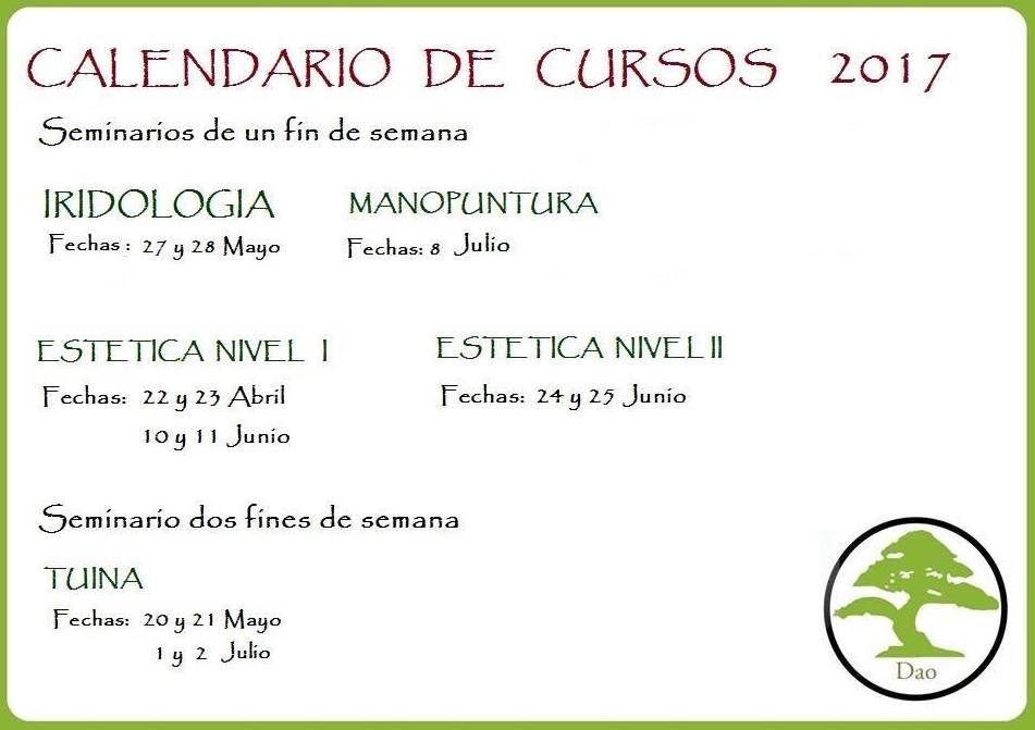 Cursos de iridiología en Malaga|Centro Dao