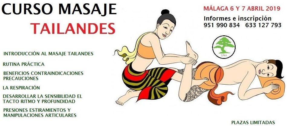 Curso de Masaje Tailandes