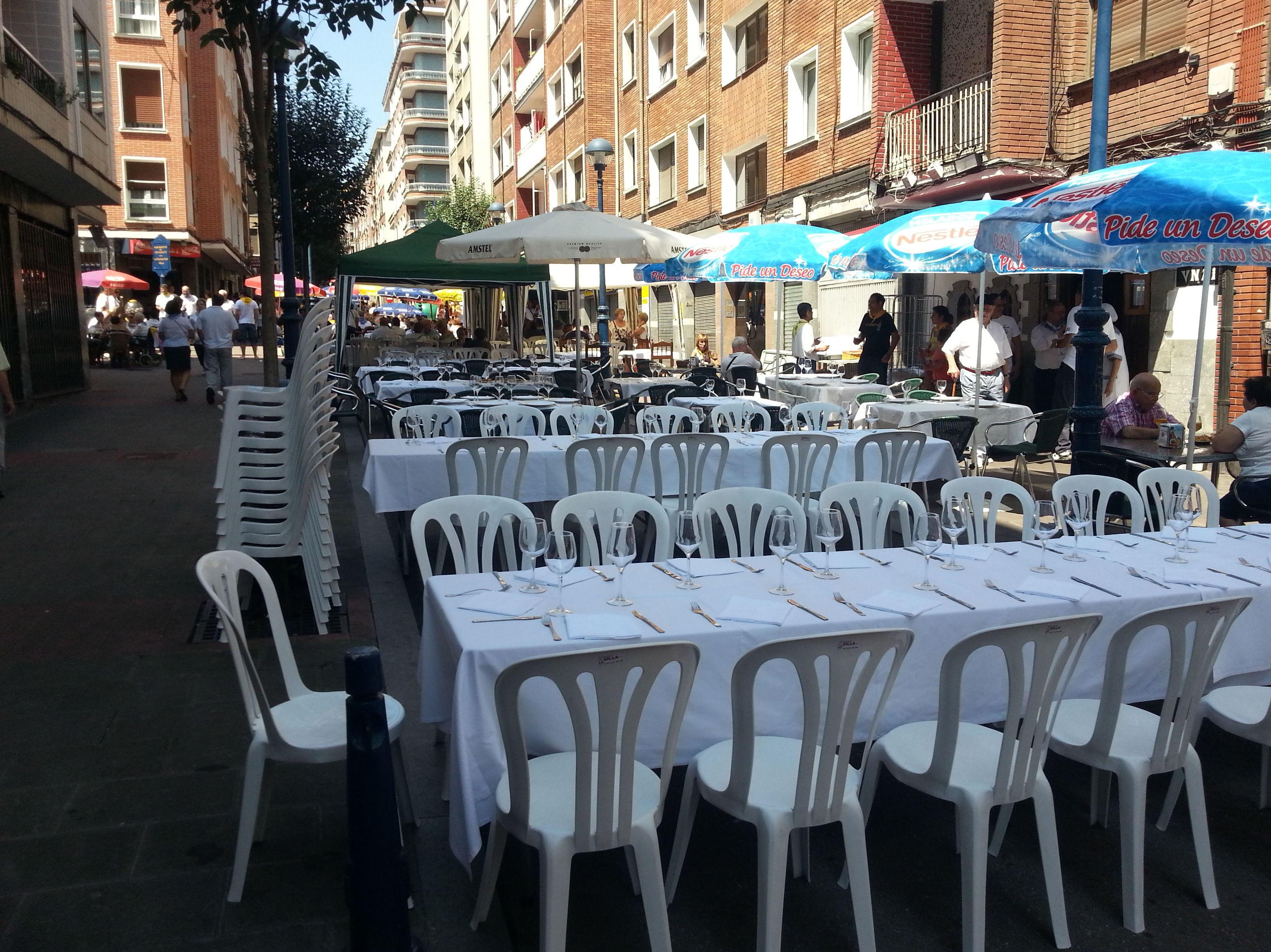 Restaurante con terraza en Portugalete