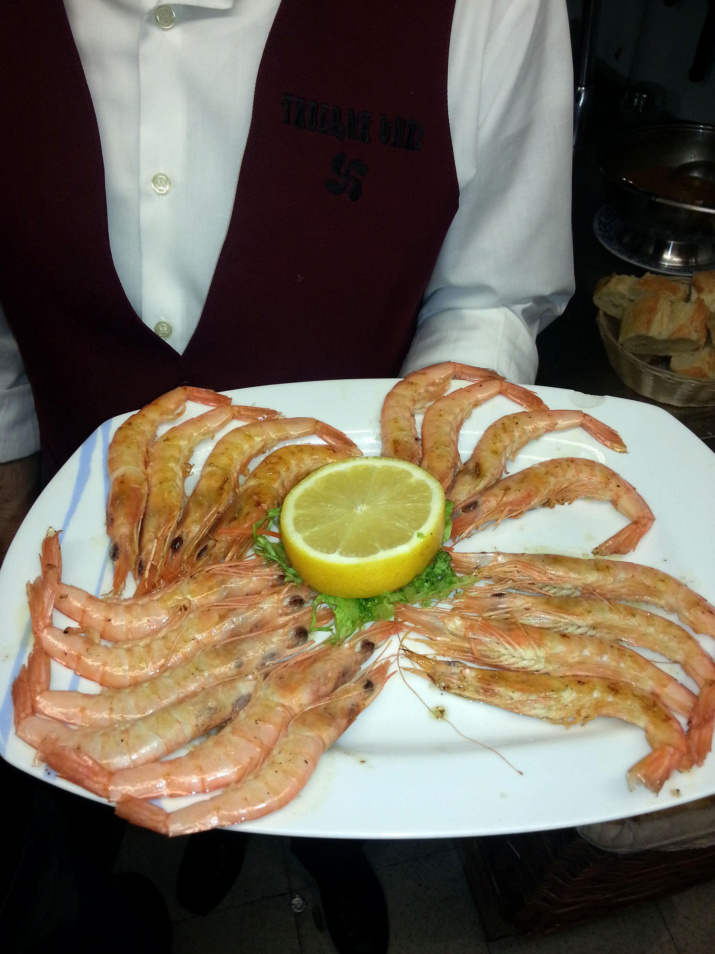 Taberna Unai, especialidad en mariscos