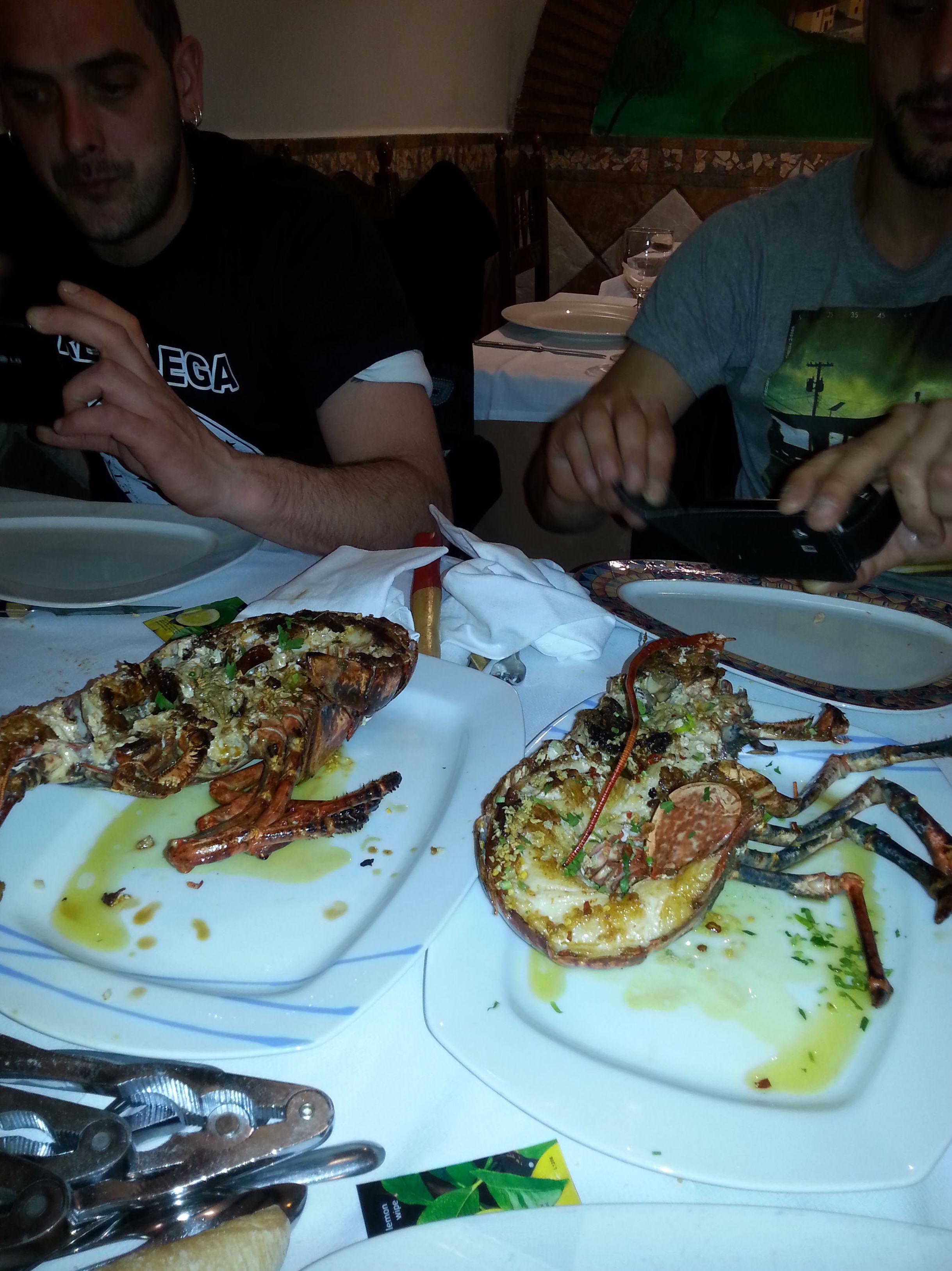 Comer mariscadas en Portugalete