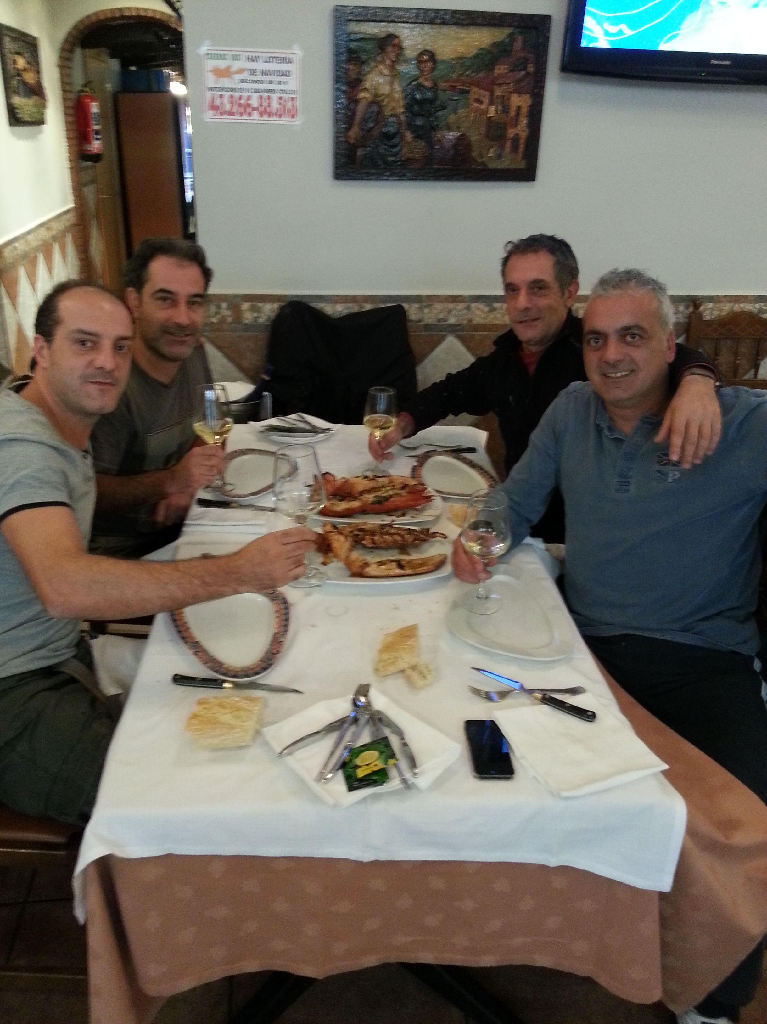 Restaurante para reuniones de amigos