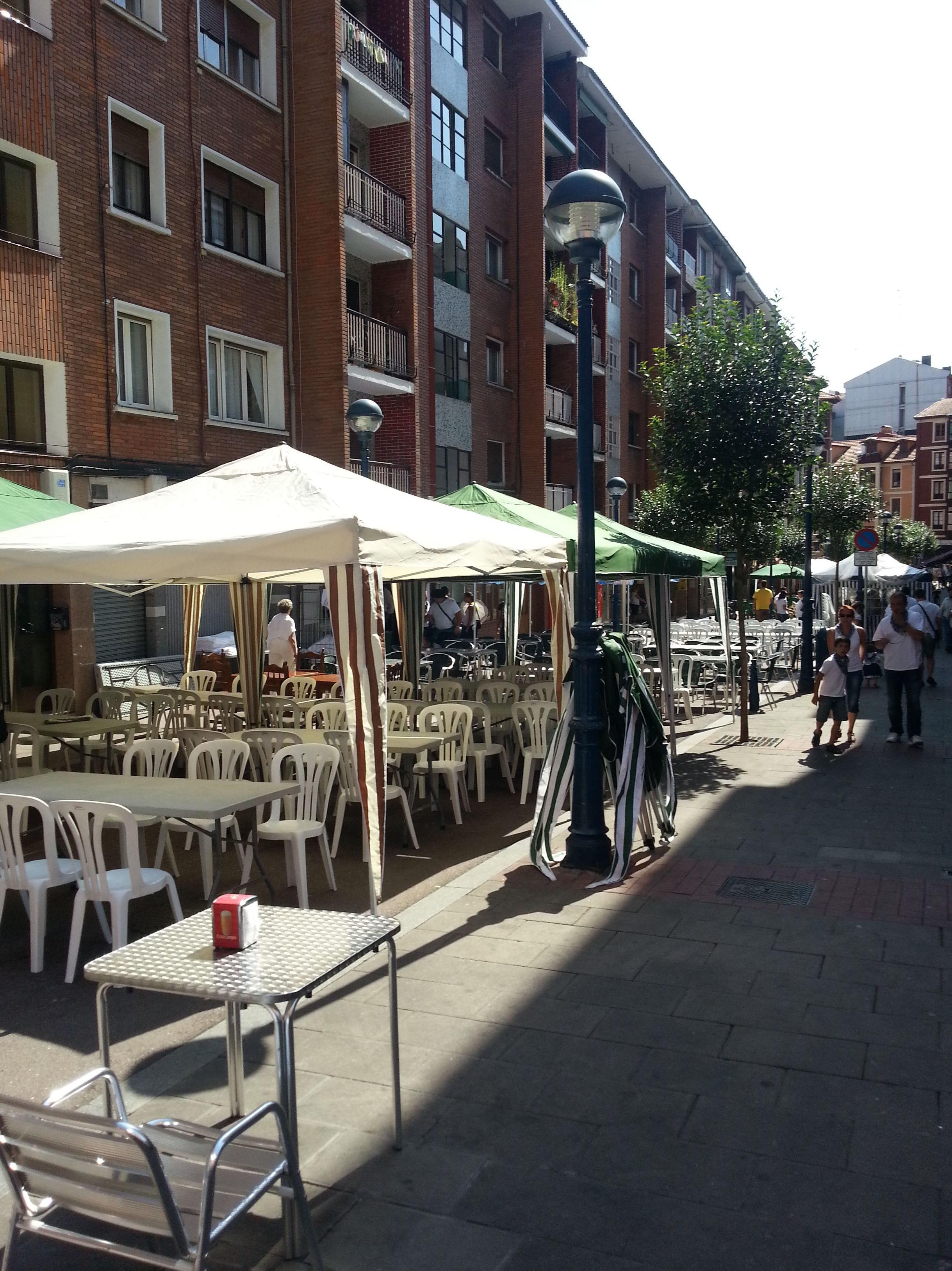 Restaurante en el centro de Portugalete