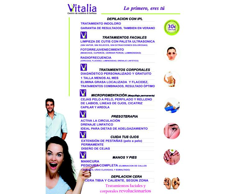 Tratamientos faciales y corporales en Ávila
