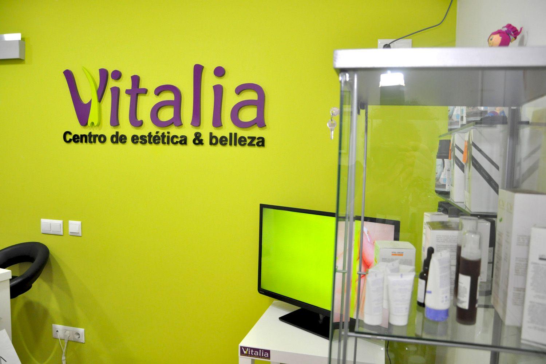 Instalaciones del centro de estética & belleza Vitalia