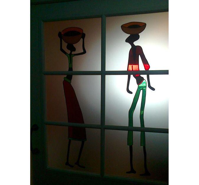 Vidriera artística en Santander