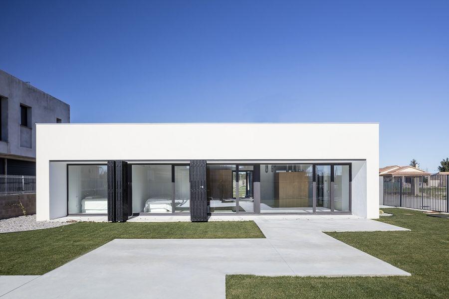 Ventalló - Obra nueva vivienda unifamiliar: Proyectos de Aroom Arquitectes
