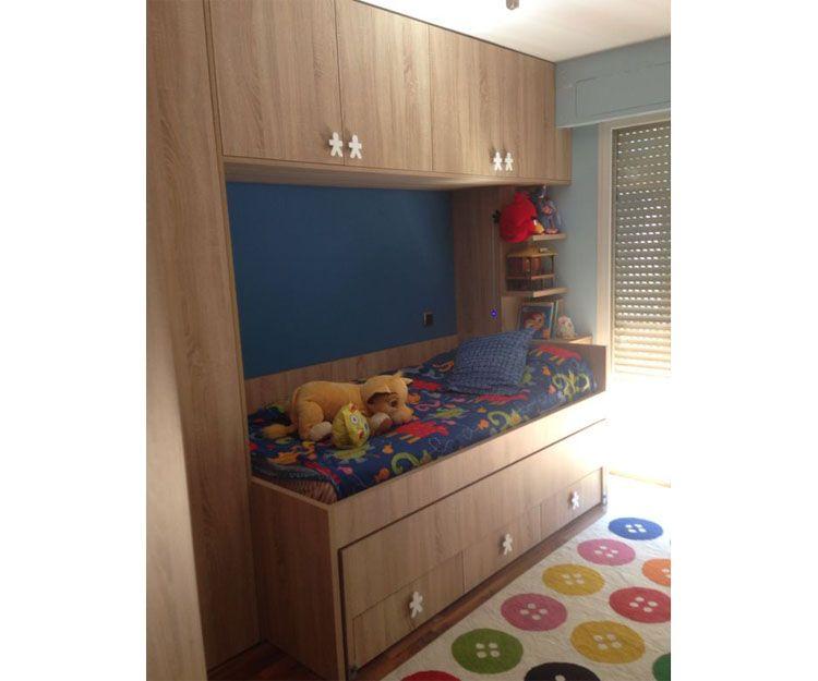 Muebles personalizados para dormitorio infantil