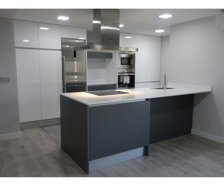 Muebles de cocina para cualquier espacio