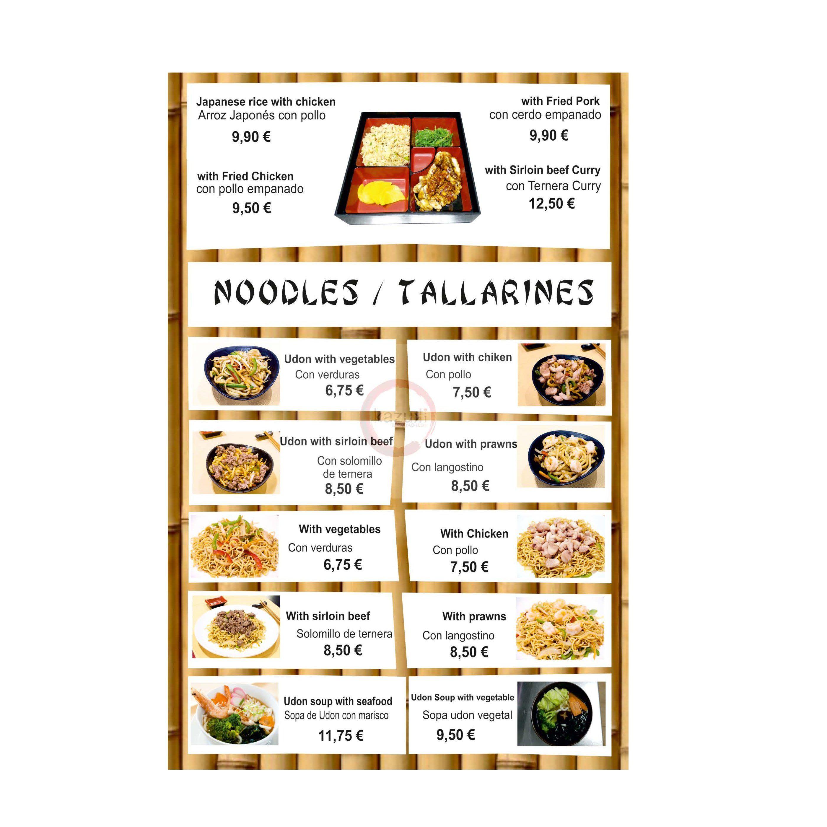 Noodles / Tallarines