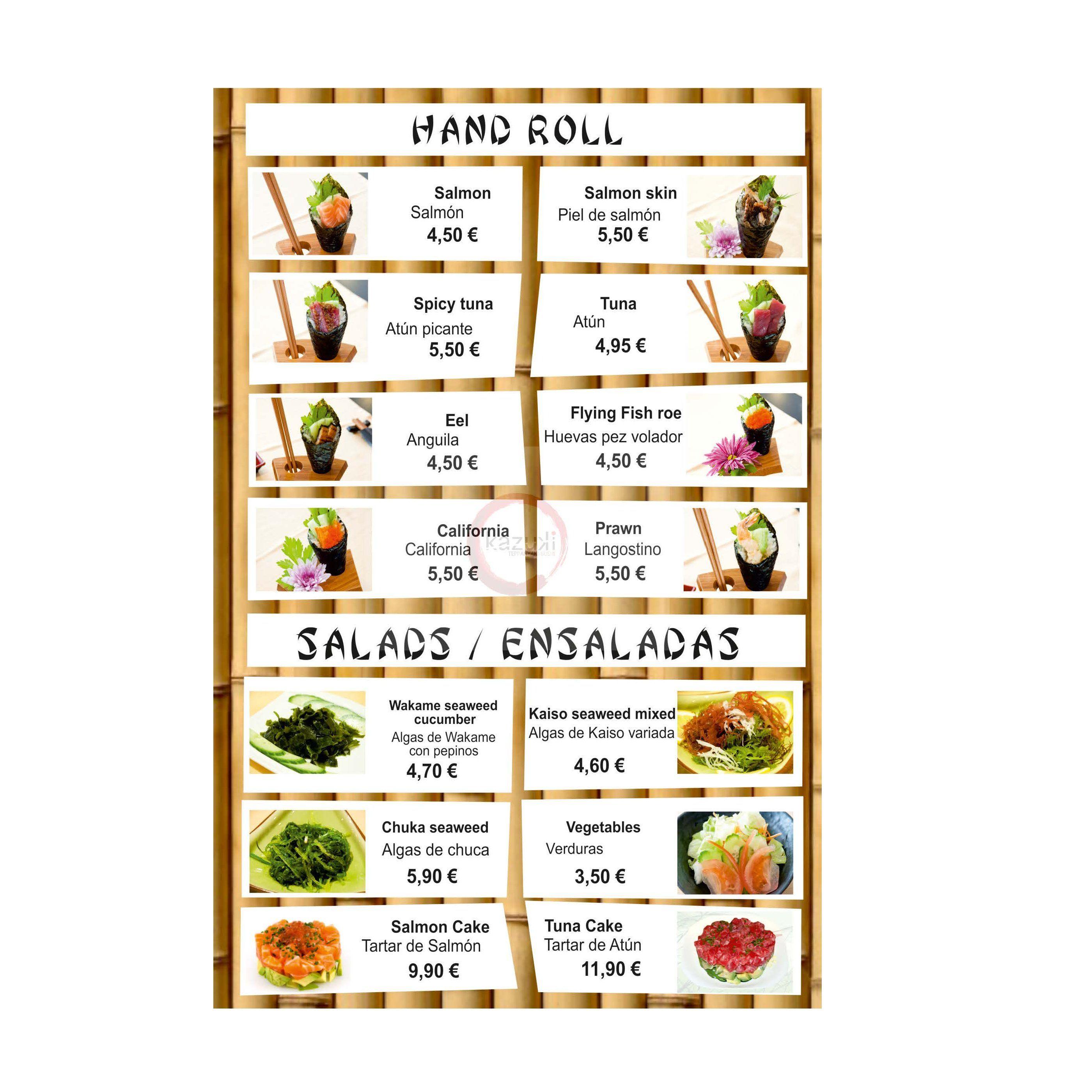 Hall Roll / Ensaladas