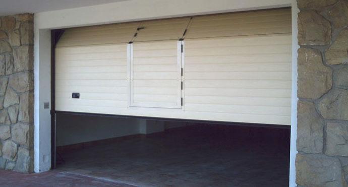 Puertas de garaje seccional
