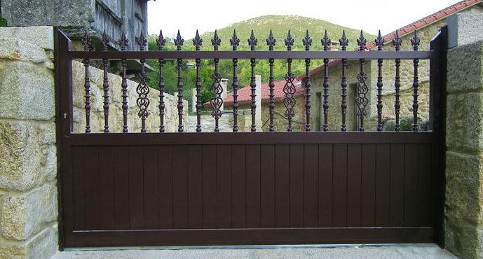 Puerta de garaje corredera