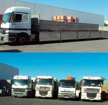 Transporte en camiones