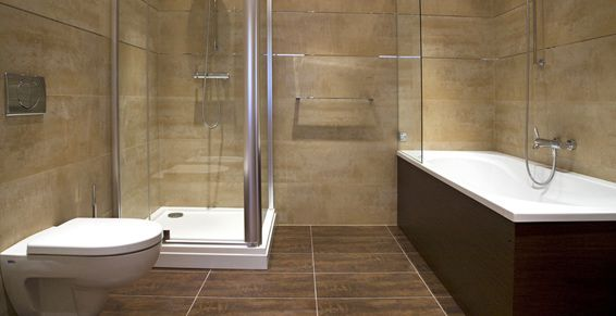 Mamparas de baño: Servicios de Aluminios Araya