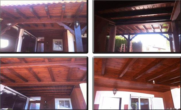 Instaladores de pérgolas y porches de madera