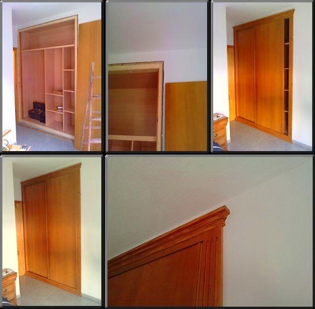 Instalación armario a medida en Elche