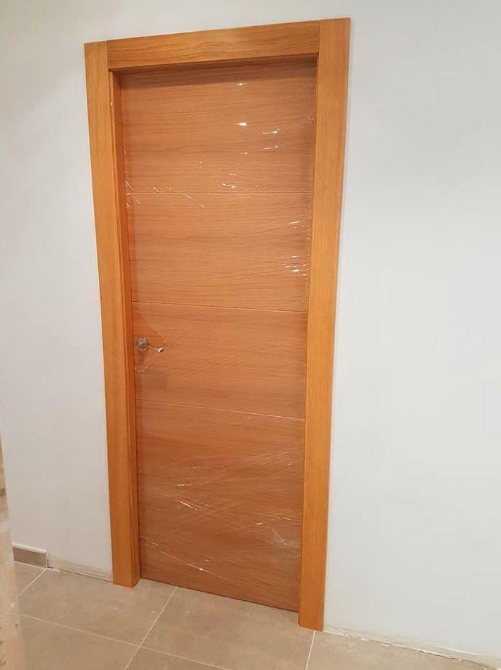 Instalación puertas de paso para vivienda