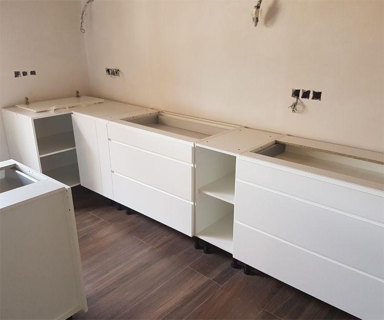 Muebles de cocina de diferentes estilos