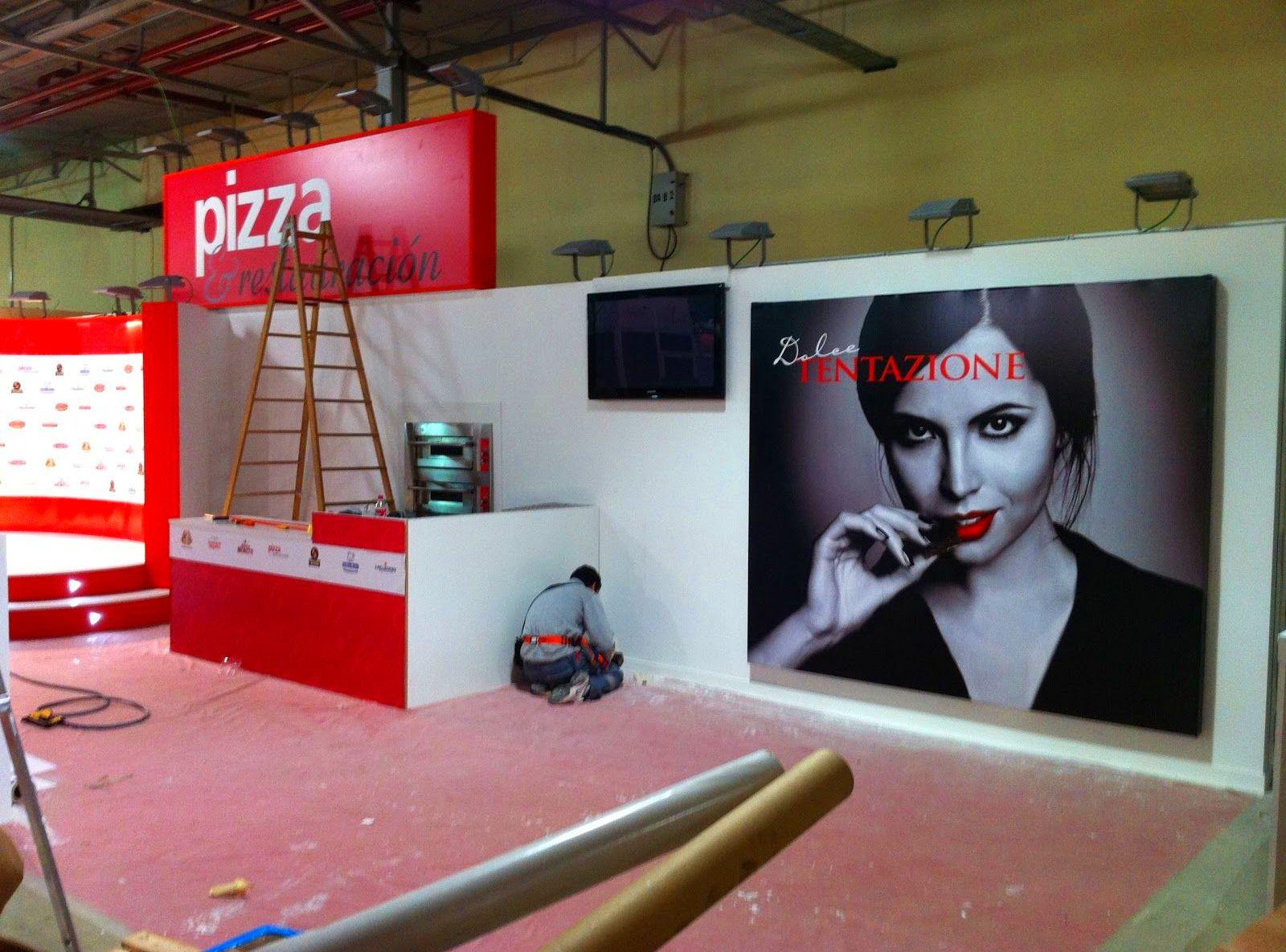Fabricación stand para certamen ferial Alicante