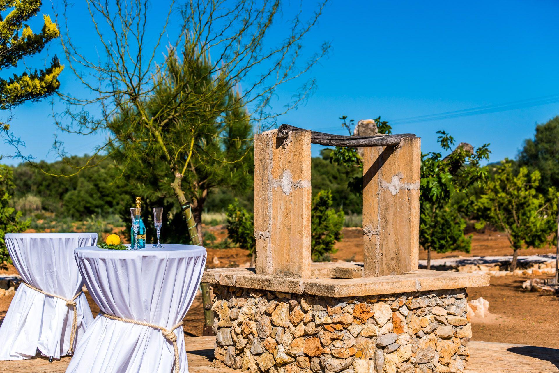 Celebración de ceremonias privadas en Mallorca