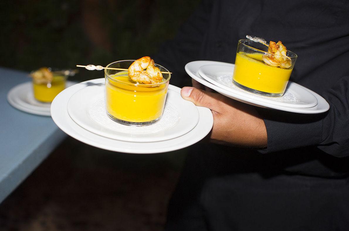 Sorprende a tus invitados con nuestras recetas más exclusivas & Crema al curry con gambas