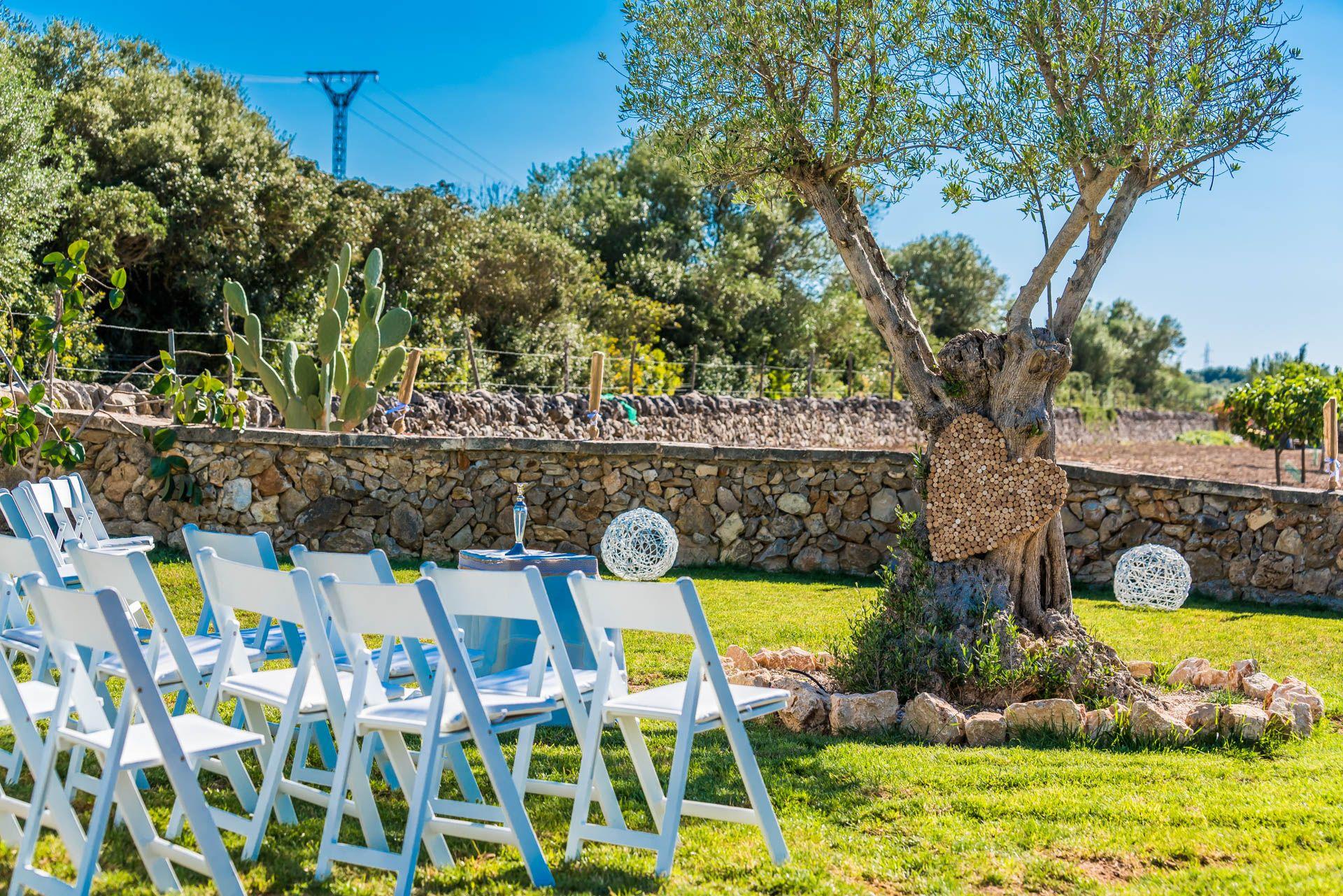 Jardines para celebraciones en Mallorca