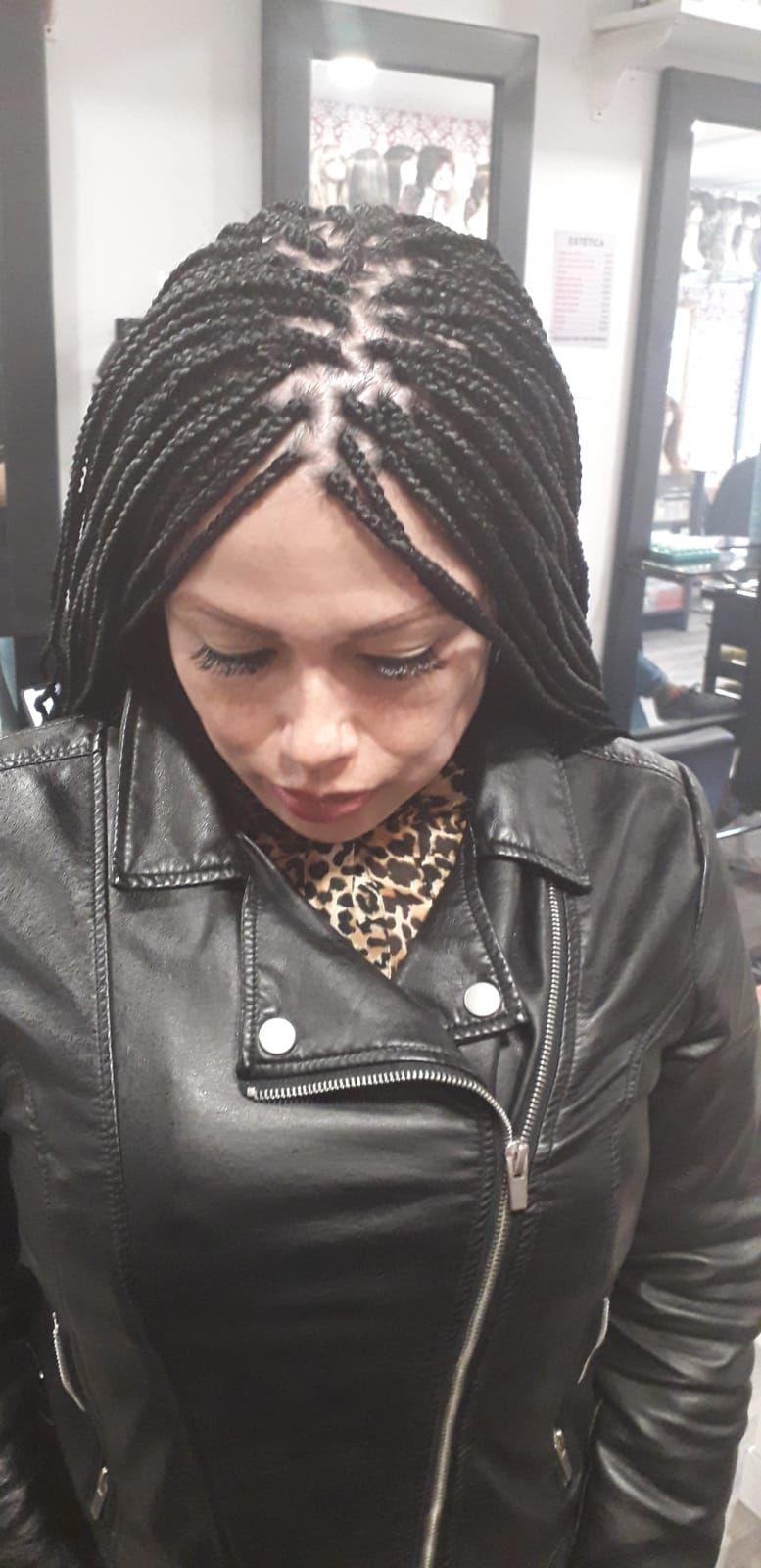 Peinados trenzas africanas