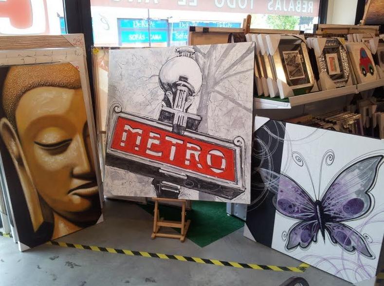 Foto 3 de Cuadros y marcos en Las Rozas de Madrid   Cuadro Factory