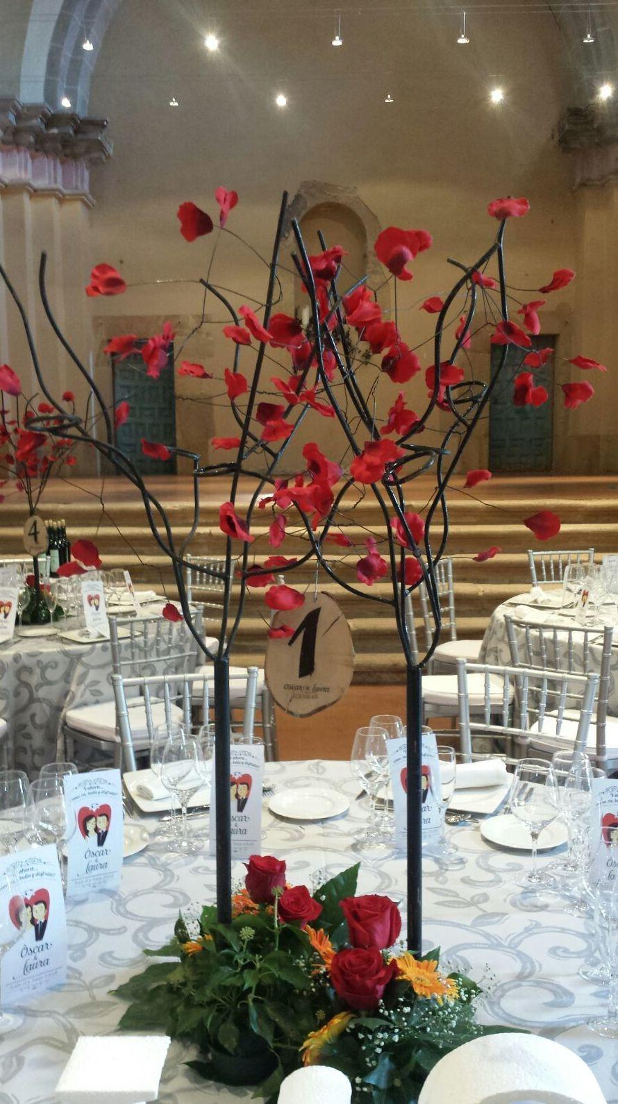 Decoración banquetes: Arreglos Florales de Flores Cid Arte Floral