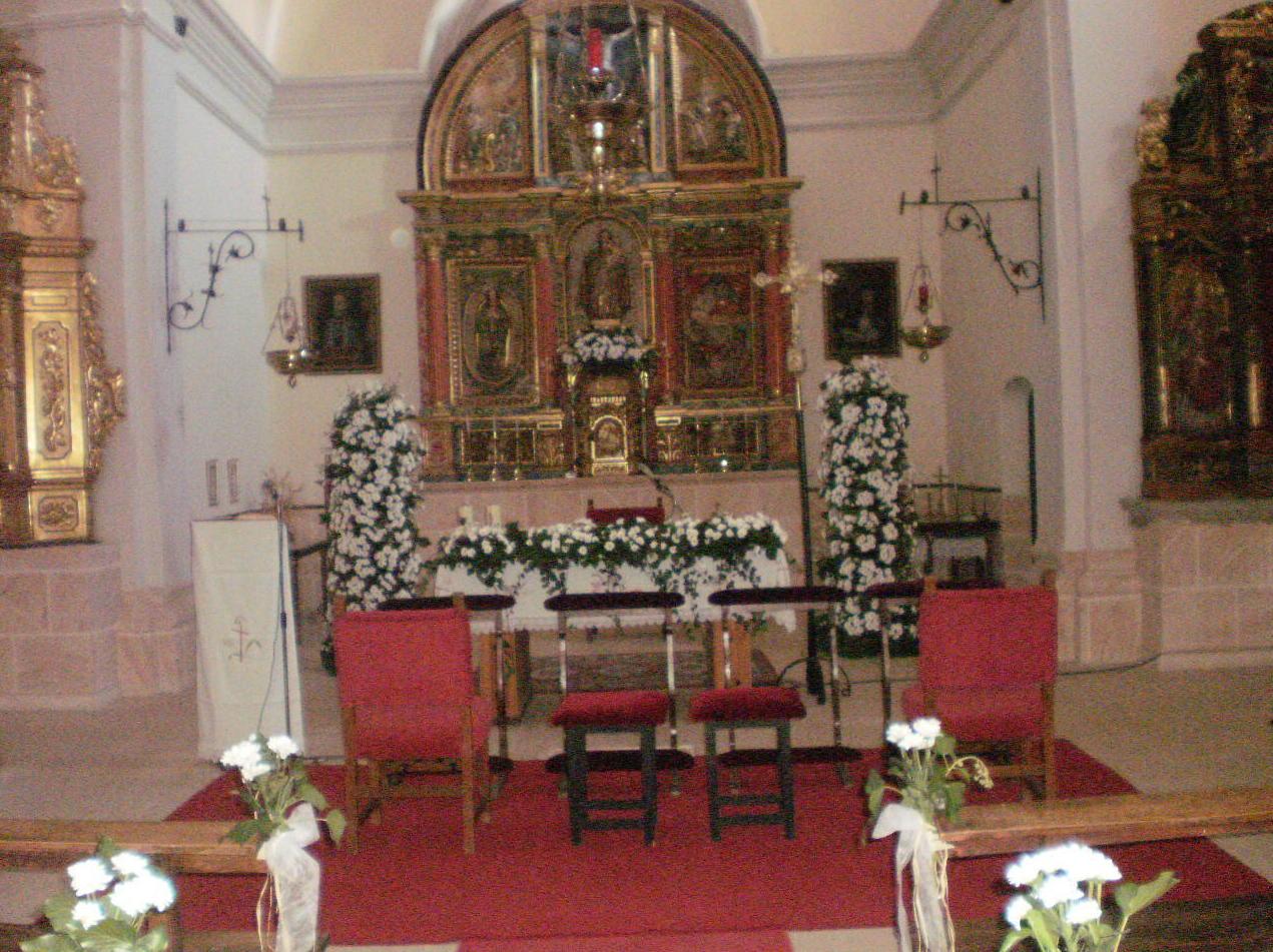 arreglos de iglesias para BODAS SORIA