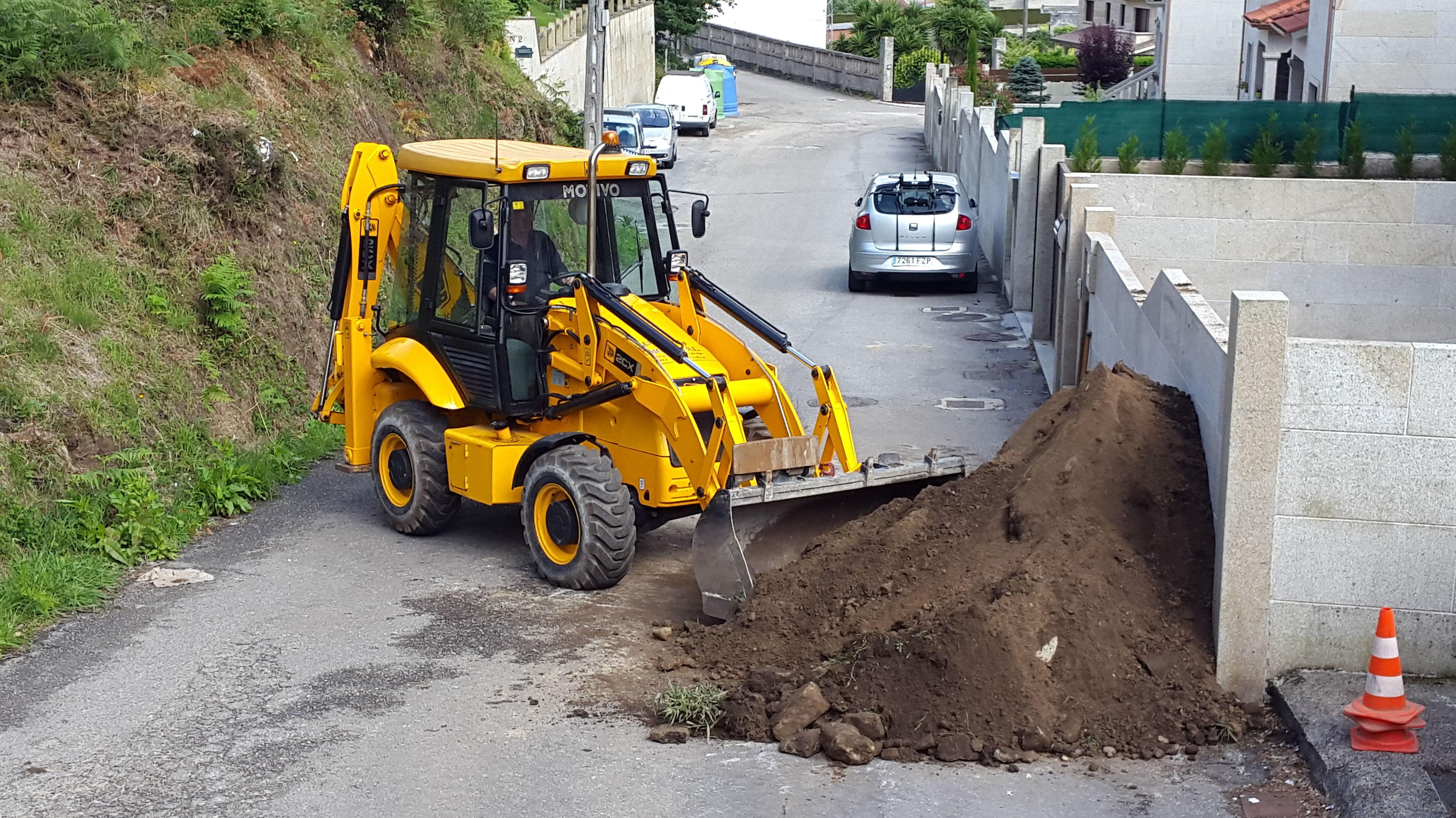 retrocargadora jcb 2cx: nuestras maquinas de Excavaciones El Molino, S.L.