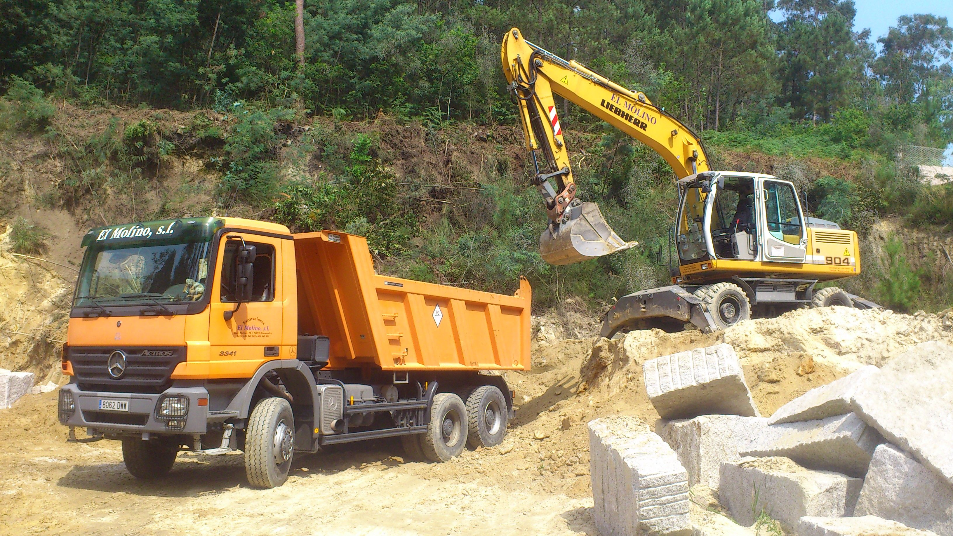 Foto 146 de Excavaciones en  | Excavaciones El Molino, S.L.