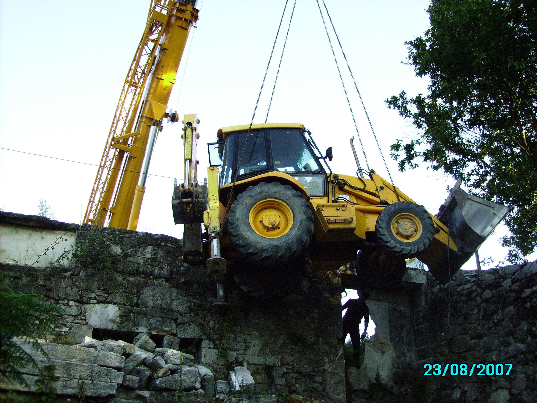 excavacion para reforma de casa XEVE-PONTEVEDRA.