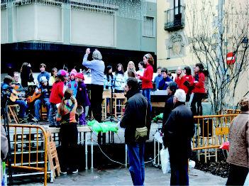concert Fira de Nadal 2009 Cardedeu