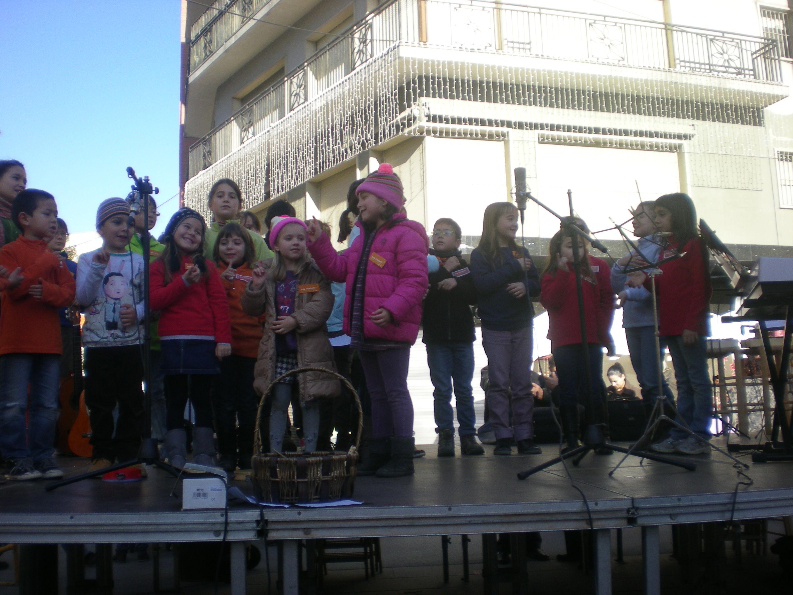concert en la Fira de Nadal Cardedeu 2012