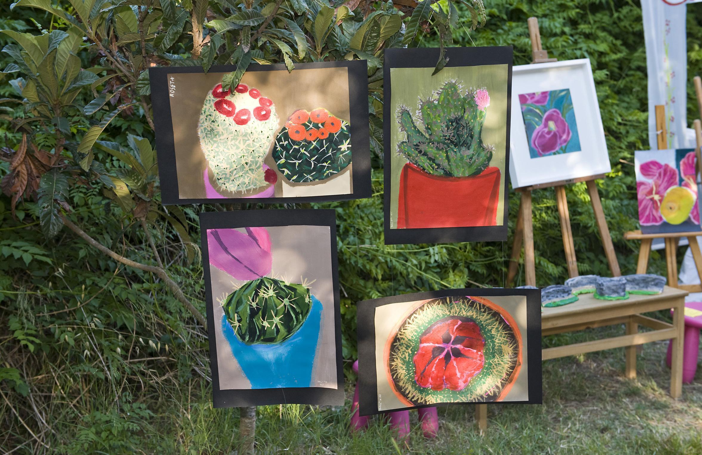 exposició de pintura fi curs 2012