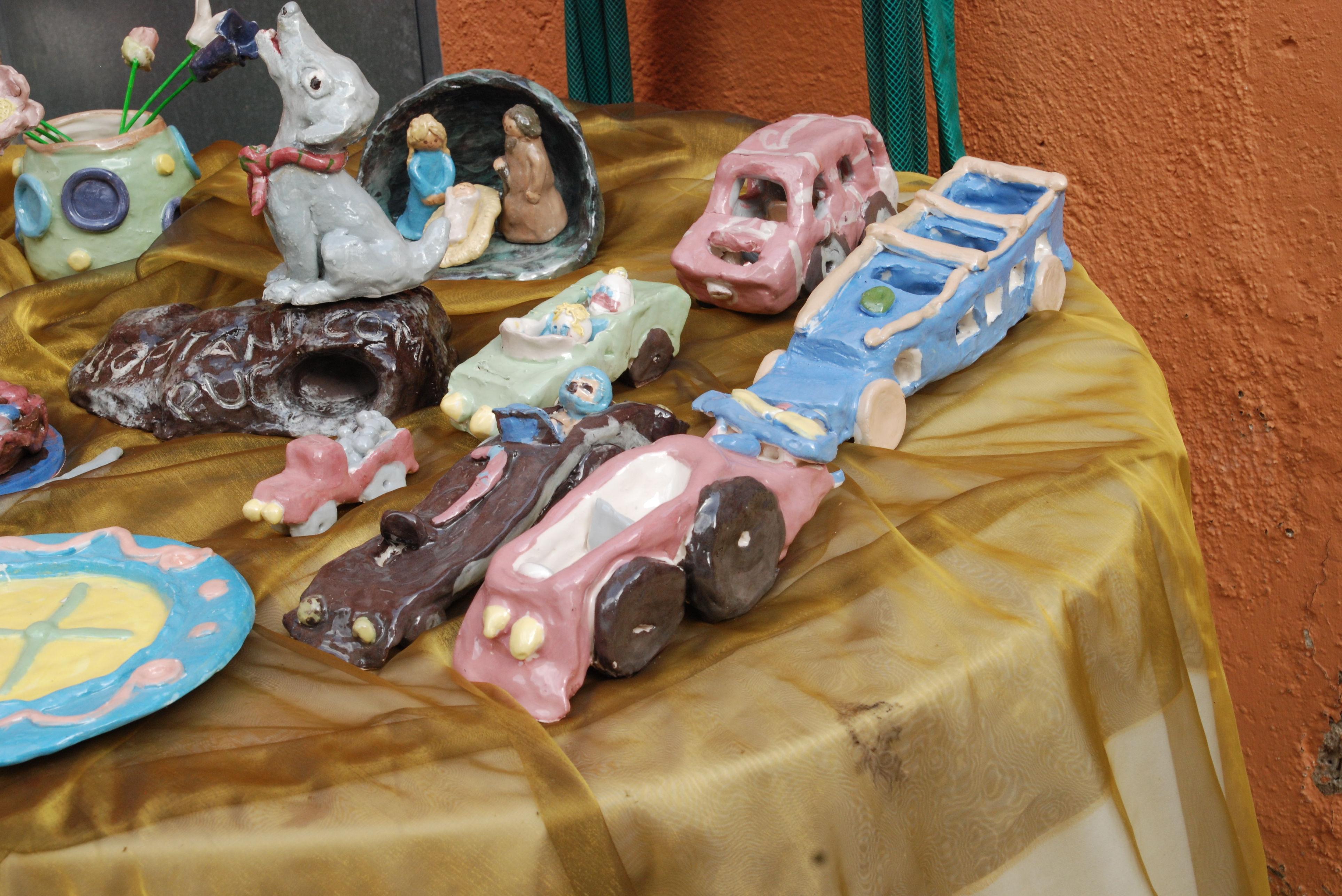 exposició ceràmica final de curso 2010\u002D11