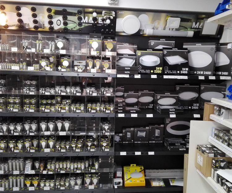 Amplia variedad de bombillas en Madrid